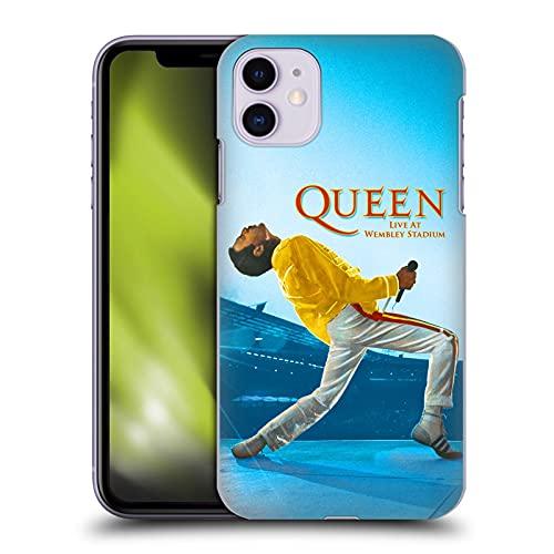 Head Case Designs Licenza Ufficiale Queen Freddie Mercury Live At Wembley Arte Chiave Cover Dura per Parte Posteriore Compatibile con Apple iPhone 11