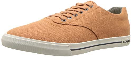 SeaVees Men's Hermosa Plimsoll Standard Sneaker, Jasper, 12 M US