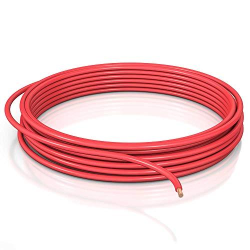 DCSk 16mm² - 5m Fahrzeugleitung FLRY B asymmetrisch - KFZ-Kabel Litze - rot - 5 m Ring