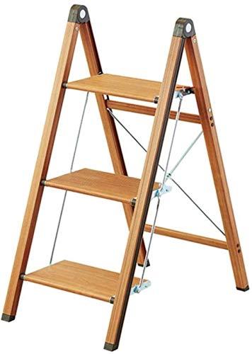 Aishang escalera pintura escalera taburete antideslizante escalera cocina taburete portátil plegable escalera escalera escalera casa Biblioteca seguridad escaleras banco