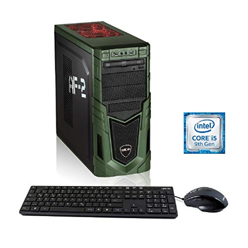 Hyrican Military PCK06366 Gaming-PC i5-9400F / 16GB RAM / 48