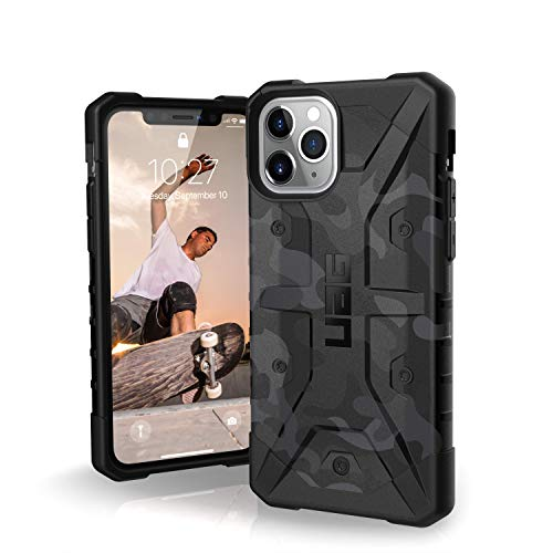 UAG Designed for iPhone 11 Pro [5.8-inch Screen] Pathfinder SE Feather-Light Rugged [Midnight Camo] Military Drop Tested iPhone Case