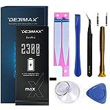 DEJIMAX 2300 mAh 27% Más Alta Batería de Reemplazo para iPhone 6 (A1549/A1586/A1589, 2300 mAh Battery de Repuesto de Iones de Litio de Alta Capacidad con Kit de Herramientas y Kit de Reparación