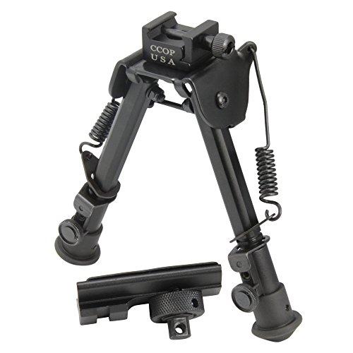 CCOP Universal Picatinny Rail Mount Adjustable Tactical Rifle Bipod, X-Large