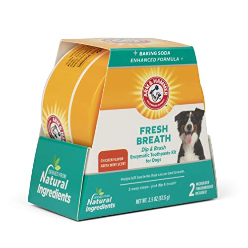 Arm amp Hammer for Pets Dip amp Brush Clinical Gum Health Enzymatic Toothpaste Kit FF12448