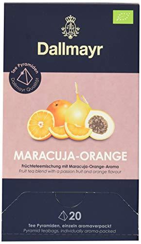 Dallmayr Teepyramide Maracuja/Orange Bio, 1er Pack (1 x 80 g)