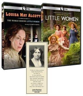 Masterpiece: Little Women + American Masters: Louisa May Alcott - DVD Combo w/ Bonus Bookmark