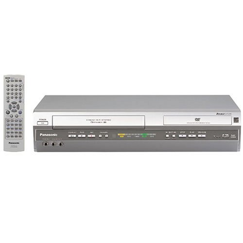 Buy Bargain Remanufactured Panasonic PV-D4745S Progressive Scan DVD/VCR Combination Deck with Multi-...