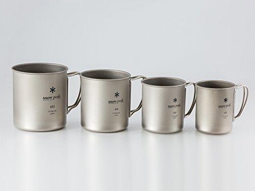 サイズも色々揃っているアウトドア用マグカップ。どんなサイズが良いのか迷ったら、どんな使い方をしたいのかを考えて選ぶと◎。