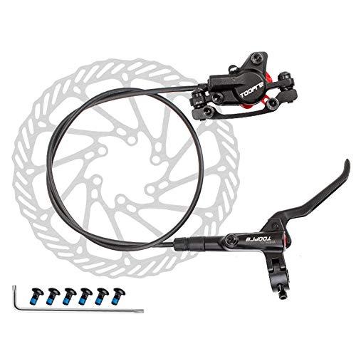 HUANGRONG Juego de Frenos de Disco de presión de Aceite de Bicicleta Freno de Disco hidráulico para montaña MTB Bicicleta Frenos Frenos Traseros Bicicleta Flotante Rotores (Color : C)