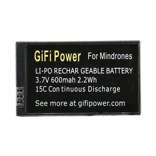 OocciShopp Batería Lipo de Repuesto de 3,7 V 600 Mah,