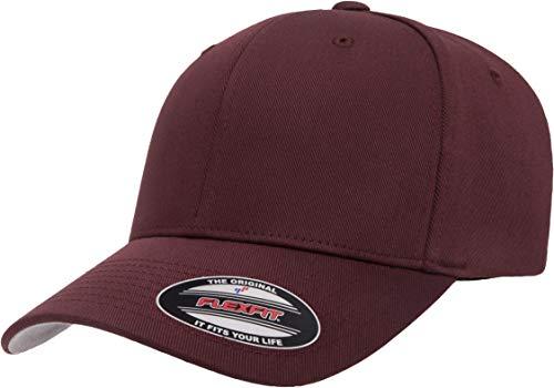 Flexfit Herren Men's Athletic Baseball Fitted Cap Verschluss, kastanienbraun, L/XL