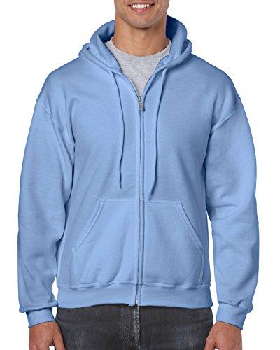 Gildan Heavy Blend Veste à capuche - Bleu - Medium