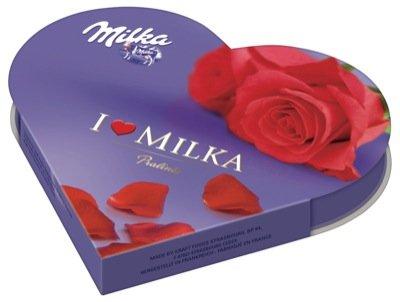 Milka I Love - Cioccolatini a Forma di Cuore, 12 Pezzi