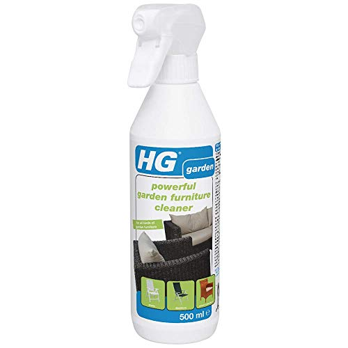 HG Powerful Garden Furniture Cleaner 500 ml – Removes Most Stubborn Dirt from Garden Furniture - Extremely Powerful