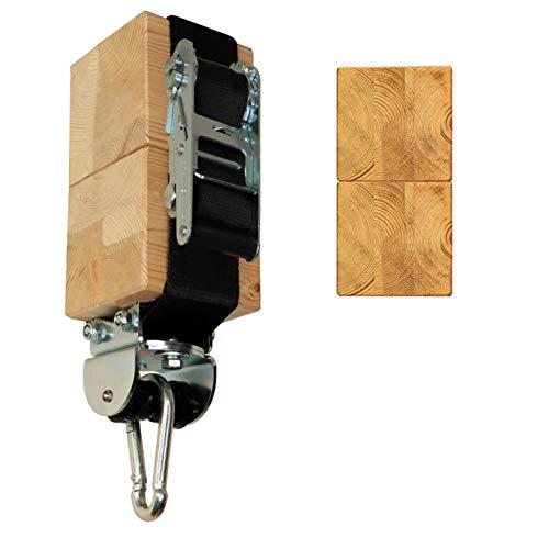 Flexible Bandschelle bis Ø23 cm oder 70 cm Umfang mit MARATHON Rollengelenk