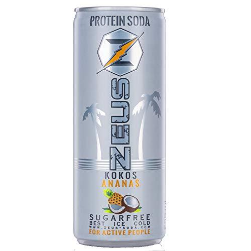 Zeus Protein Soda - Kokos Ananas 6x250ml