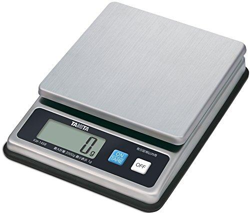 タニタ クッキングスケール キッチン はかり 業務用 防水 2kg 1g単位 ステンレス KW-1458 SS 取引証明以外用
