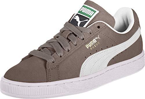PUMA Suede Classic+, Sneaker Unisex-Adulto, Grigio (steeple gray-white), 40.5 EU