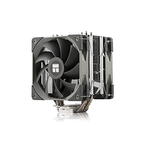 DEALBUHK AS120 CPU Radiador RGB Host Fan FS140 AK120 AX120 Plus Intel AMD AM4 Computadora de Escritorio 4 Tubo de Calor PWM Silent CPU Ventilador Alto Rendimiento