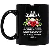 N\A Feliz día de Las Madres, mi Abuela, yo era un bebé y por Todos Tus Consejos únicos Taza de café Negra de 11 oz