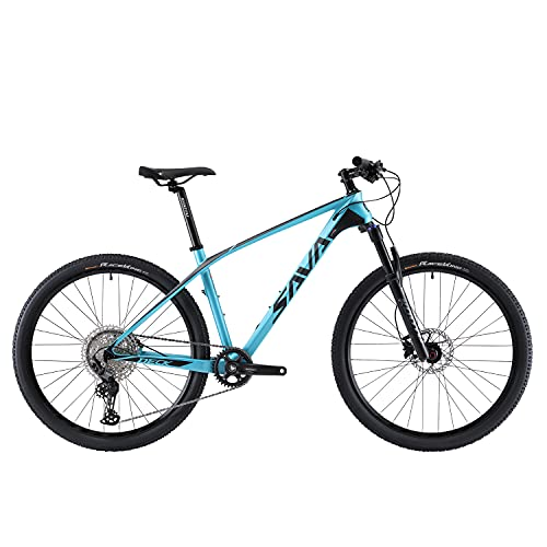 SAVADECK DECK6.0 Mountain bike in carbonio 26/27.5/29 pollice Bicicletta da fuoristrada XC MTB ultraleggera in fibra di carbonio con Cambio Shimano DEORE M6000 a 30 Marce e Coda Dura Completa