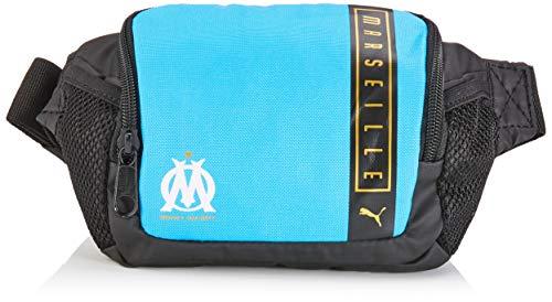 Puma Olympique Marseille Belt Bag Sac Banane Mixte Adulte, Bleu Azur White, UA