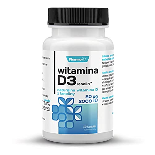 Vitamina D3 50 µg / 2000IU 120 capsule PharmoVit