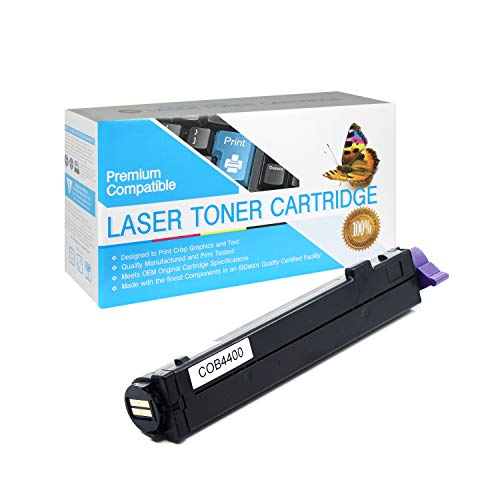 SuppliesOutlet Compatible Toner Cartridge Replacement for Okidata Type 9 / B4400 / 43502301 (Black,1 Pack)