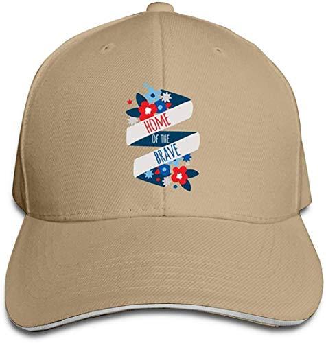 ZYZYY Berretto da baseball unisex Indipendenza Day 1 Snapback Cappello regolabile con visiera