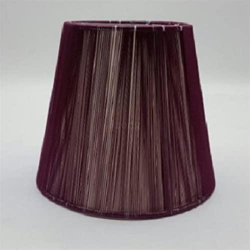 YSDSPTG Tulipa de lámpara E14 Lámpara Sombras 15 cm CLORURO DE POLIVINILO Lámpara Redonda para lámparas de Pared Cubiertas de Cristal de Cristal Cubierta de lámpara Moderna para Luces de Pared