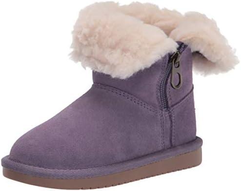 Koolaburra by UGG womens Aribel Short Fashion Boot Montana Grape 5 Big Kid US product image