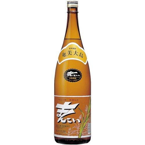 弥生焼酎醸造所 まんこい 黒糖 30度 1800ml  [鹿児島県]