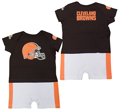 Outerstuff Cleveland Browns Baby/Infant Fan Jersey Romper 6-9 Months