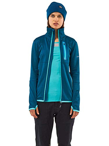 Mons Royale Approach Tech Mid Veste pour Femme XS Oily Blue
