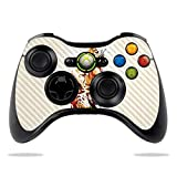 MightySkins Carbon Fiber Skin for Microsoft Xbox 360 Controller - Cheetah Splatter | Protective, Durable Textured Carbon Fiber Finish | Easy to Apply, Remove, and Change Styles | Made in The USA