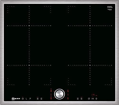 Neff T46BT73N2 - Placa de inducción N70 / 60 cm/CombiZone/TwistPad/Nivel de potencia para ollas/Marco de acero inoxidable