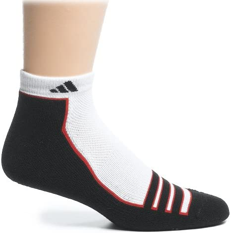 adidas Men's Climalite Compression Low Cut Sock, 2-Pack