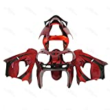 SG FAIRINGS Red Black Motorcycle Complete Fairings For 2002 2003 ZX-9R Ninja zx9r 02 03 ABS Plastic Bodywork Body Frames 2002 ZX-9R 2003 Covers