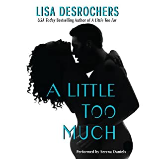 A Little Too Much audiobook cover art