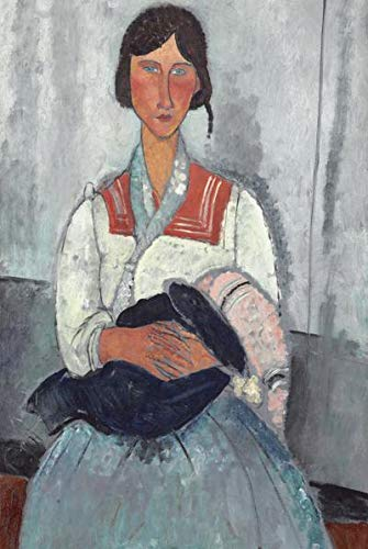 N / A 1000 Puzzle Amedeo Modigliani Best Work Modern s Puzzle mats for jigsaws Wooden Jigsaw Puzzles for Adults