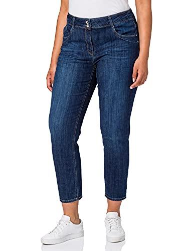Cecil Damen Toronto Jeans, mid Blue wash, W29/L28