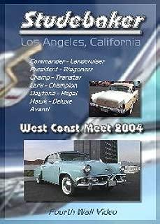 Studebaker West Coast Meet Classic Car Show DVD