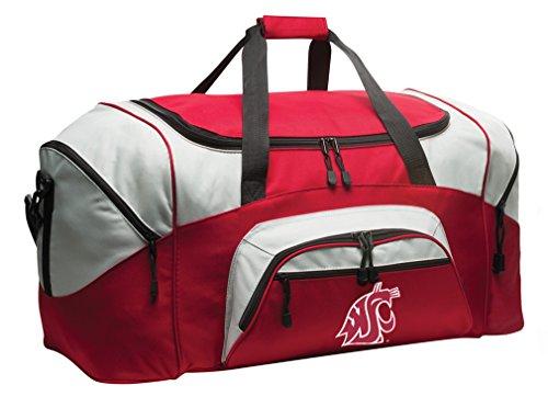 DELUXE Washington State University Suitcase Duffel Bag or LARGE Washington State Gym Bag Gear Duffle