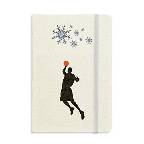 Cuaderno de baloncesto grueso para correr salto de deportes de invierno