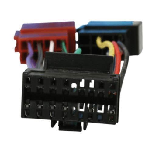 CABLEPELADO Cable de Audio ISO Compatible con Pioneer 0.15 M Negro
