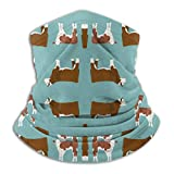 antfeagor Hereford Cattle and Cow Fabric 11191 Valentine 2020 for Women Men Dust Wind Sun Protection Seamless Bandana Face for Rave Festival Outdoor Running Tube Multifunctional Headwear