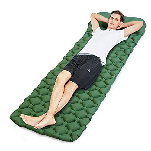 Idefair aufblasbare Isomatte, ultraleichte Campingmatten Außenmatratze wasserdichte Luftschlafmatte mit Kissen für Zelte Wandern Rucksacktouren Camping Reisen Hängemattenstrand
