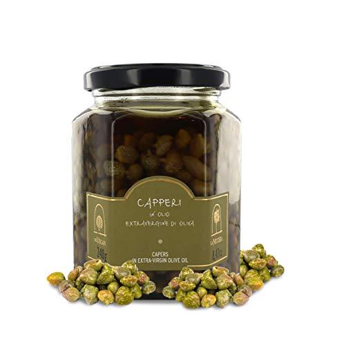 La Nicchia Pantelleria - Kapern in Natives Olivenöl Extra 240g