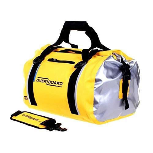 Over board borsone impermeabile Duffle Bag 40 litri giallo